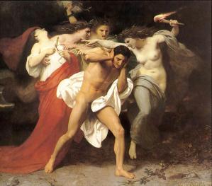 El remordimiento de Orestes.1860